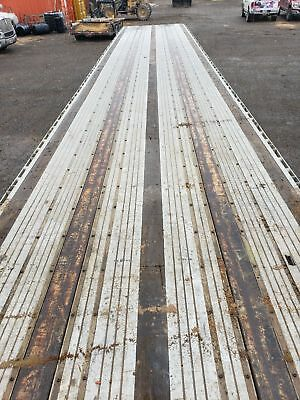 """1998 Utility Flatbed spread Axil Trailer 48' x 98""""/ NO RESERVE"""