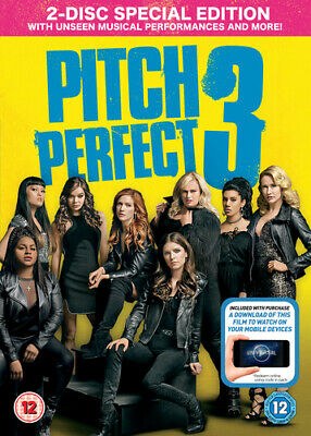 Pitch Perfect 3 DVD (2018) Anna Kendrick, Sie (DIR) cert 12 2 discs Great Value