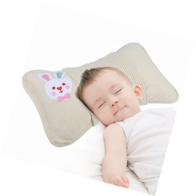 Breathable Soft Newborn Baby Toddler Pillow for Preventing Flat Head Syndrome