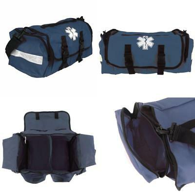 First Responder On Call Trauma Bag With Reflectors Multiple Compartments Navy Us