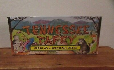 Tennessee Taffy Candy Box EMPTY Smoky Mountain Candy Makers BOX ONLY NO CANDY
