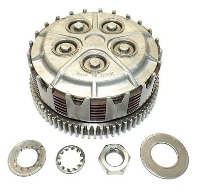 Kawasaki F5 Bighorn 350 Clutch Assembly. Original & Complete. 1970, 1971.