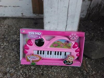 little pianist brand new in the box children pink piano