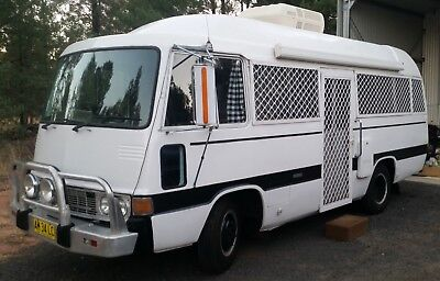 Toyota Coaster Motorhome /Tiny House/Camper - Long Registration