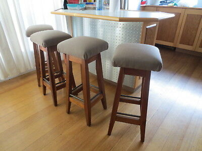 Retro Bar Stools x 4