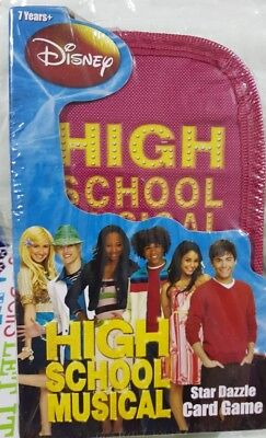 New Disney  High School Musical Star Dazzle  Card Game 7+ Years