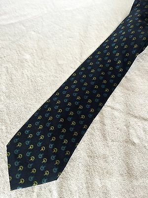 GUCCI cravatta tie original 100% seta silk made in Italy vintage new nuova