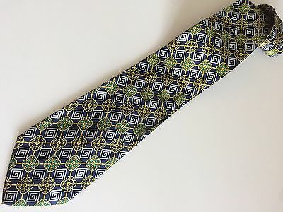 GIANNI VERSACE VERSUS Cravatta Tie Original New 100% Seta Silk Made In Italy