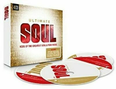 NEW SEALED 4 CD's GREATEST SOUL MUSIC  NORTHERN,DISCO,FUNK,DANCE HITS ETC