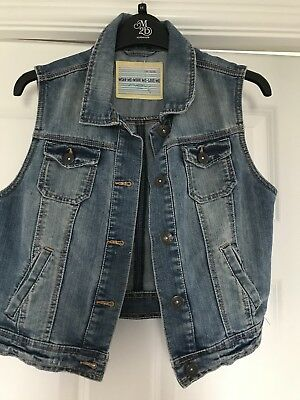 New Look  Denim Gilet/ Jacket  Size 10 New without tags