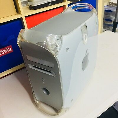 Powermac G4 800MHz 160GB/20GB 1GB RAM Quicksilver with Zip drive (working)