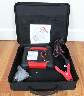 Snap-On Tools EECS350 Enhanced Battery & Electrical System Tester_Nice