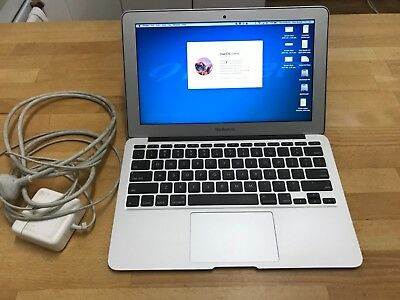 "Apple MacBook Air 11.6"" Laptop, Mid 2011, Ex Cond with Adaptor, STM Carry Sleeve"