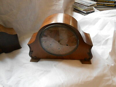 Mantle Clock - Westminster Chime with 7 Day Movement, Pendulum and key