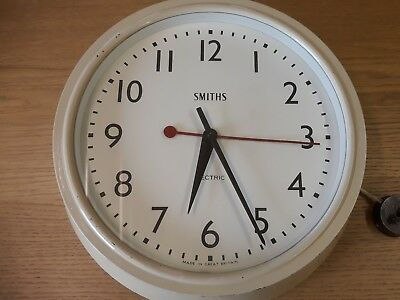 Smiths Sectric Factory Clock