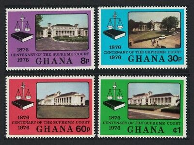 Ghana Centenary of Supreme Court 4v SG#778-781
