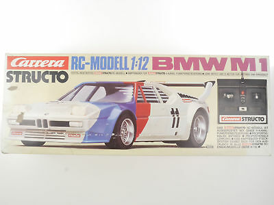 Carrera 90225 Structo BMW M1 RC-Modell 1:12 Funktion OK 124 OVP 1605-18-06