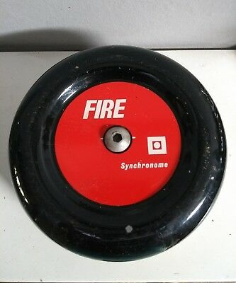 """Vintage synchronome fire bell 6"""" approximately"""