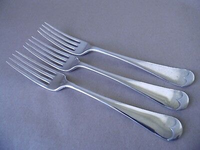 Mappin & Webb Excellent Edwardian Sterling Silver Table Forks 1906, 226 Grams