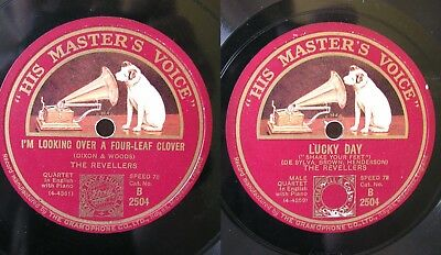 The Revellers: I'M LOOKING OVER FOUR-LEAF CLOVER / LUCKY DAY