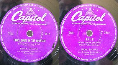 Frank Sinatra: THREE COINS IN THE FOUNTAIN / RAIN