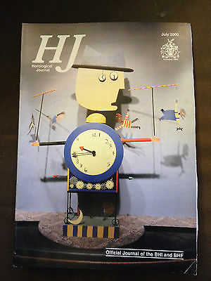 July 2000 Horological Journal Magazine - Lunar Indicators