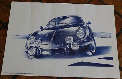 alpine renault AGE D'OR MONTHLERY 2003 poster