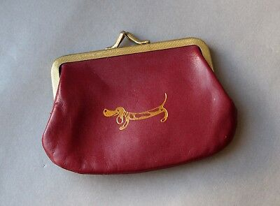 Lovely Vintage leather wallet / change purse