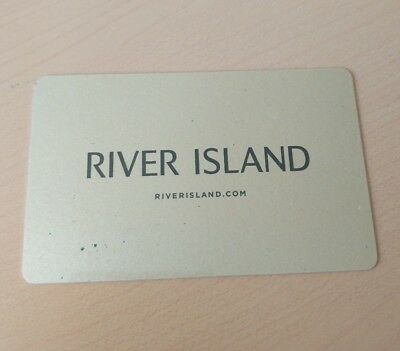 River Island Gift Card, Face Value £106