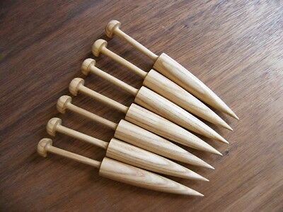 Tapestry Bobbins  6 1/2''  Ash wood