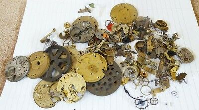 Job Lot Assorted Watch Or Clock Parts