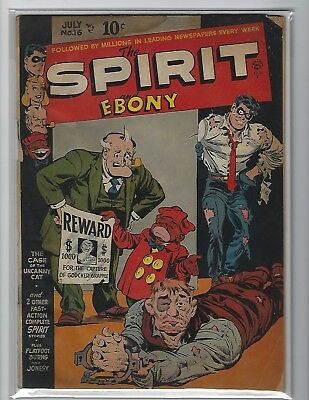 The Spirit #16 Scarce Quality Golden Age Comic Book