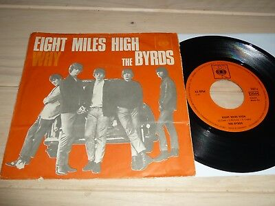 """7""""  Byrds   Eight Miles Hight   (Germany / CBS)"""