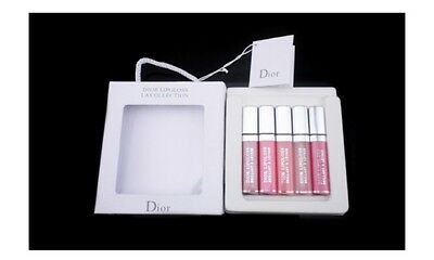 New Dior La Collection Lip Gloss Gift Set - Rrp £50
