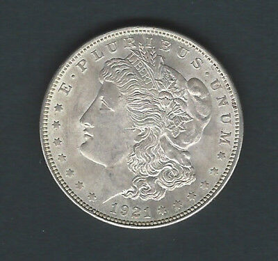 1921 Liberty Head Silver Dollar Ex. Fine Condition
