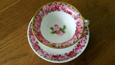 George Jones Crescent China  Cup and Saucer Design No 16397