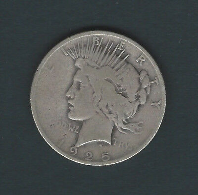1925 Liberty Head Silver Dollar Good Condition