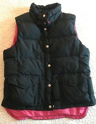 J Crew womens L large down vest EUC LKNW Perfect for Spring!  $125