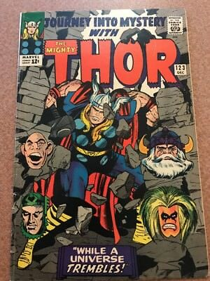 Journey Into Mystery The Mighty Thor #123 1965 Silver