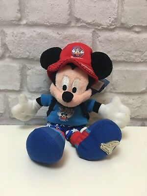 Walt Disney World 2003 Mickey Mouse Soft Toy With Tags Rare Collectable