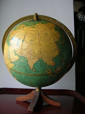 Cram's 1938-40 Terrestrial World Globe No. 105