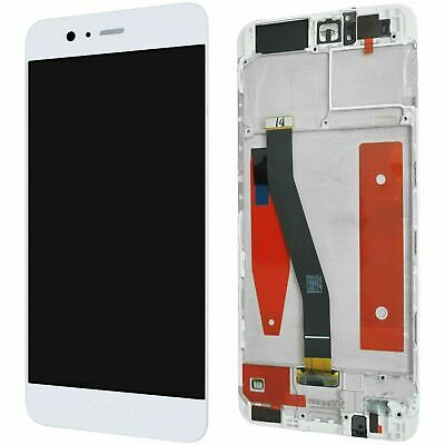 Huawei P10 Komplettes LCD Display Touchscreen Weiss + mit Rahmen
