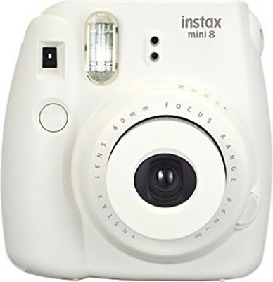 NEW Unused Fujifilm Instax Mini 8 Instant Film Camera (White)