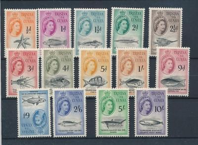 [5339] Tristan Cunha 1960 good set very fine MNH stamps value $170
