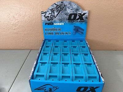 Full Box (40 Qt) Rubber Line Blocks By OX