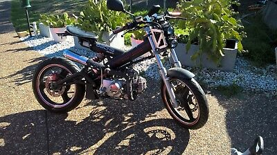 Scooter - sachs madass 125 , customised