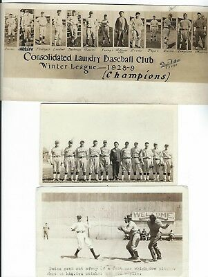 1927 All ORIGINAL Baseball Photos Babe Ruth History Barnstormer Player 5 PHOTOS