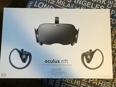 Oculus Rift + Touch Virtual Reality System + Two Sensors, BARELY USED