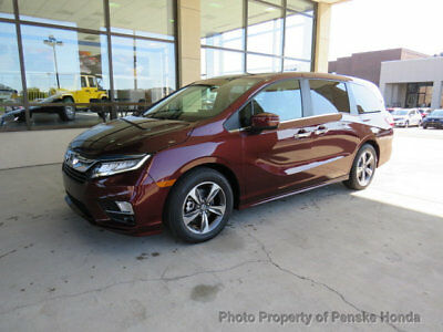 Honda Odyssey Touring Automatic Touring Automatic New 4 dr Van Automatic Gasoline 3.5L V6 Cyl Deep Scarlet Pearl