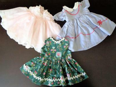 "MUFFIN Vintage 1950s Tagged Madame Alexander Doll Dress Clothes fit 16"" Margaret"